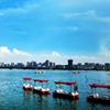 游东湖 学水上安全知识
