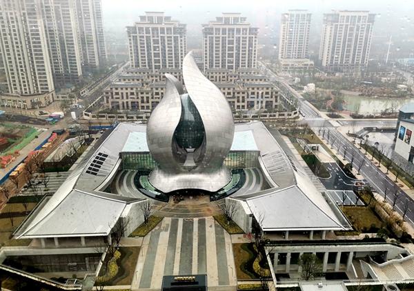 建设中的中国建筑博物馆