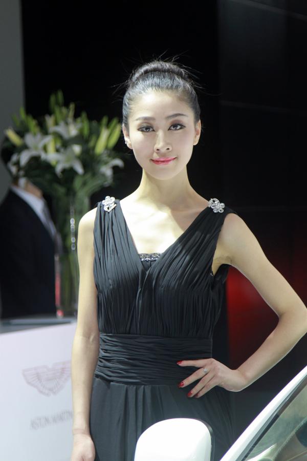 广州车展美女模特