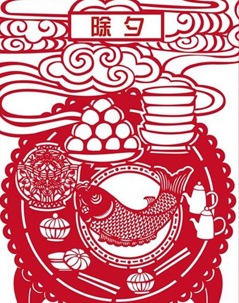 春节民俗剪纸大赏