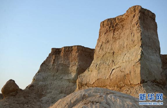黄土高原上的奇观