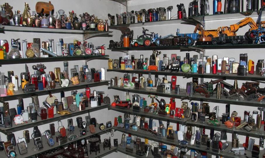 收藏超3600个打火机